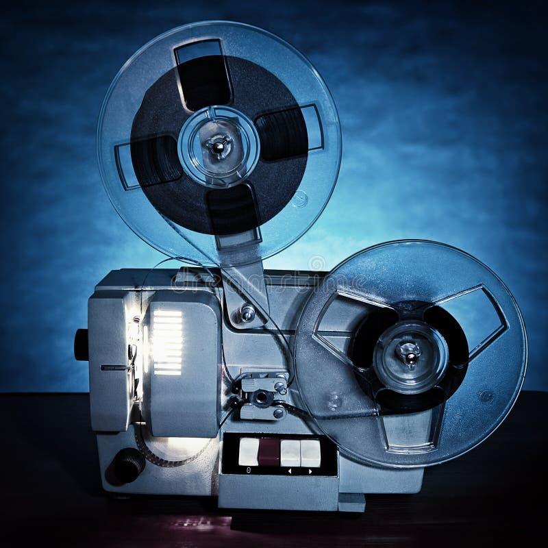 Projecteur de film du numéro un photos libres de droits