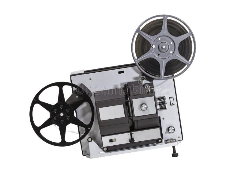 Projecteur de home cinéma 8 superbe de vintage images stock