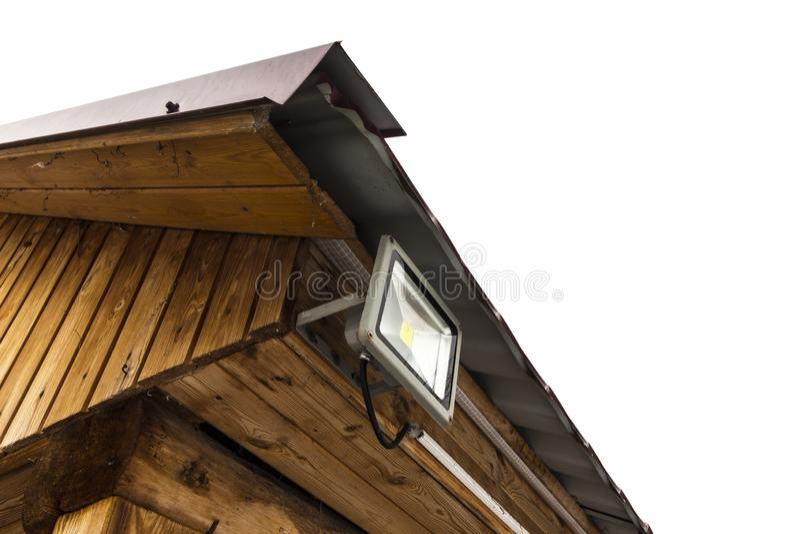 Projecteur de jardin de LED photo stock