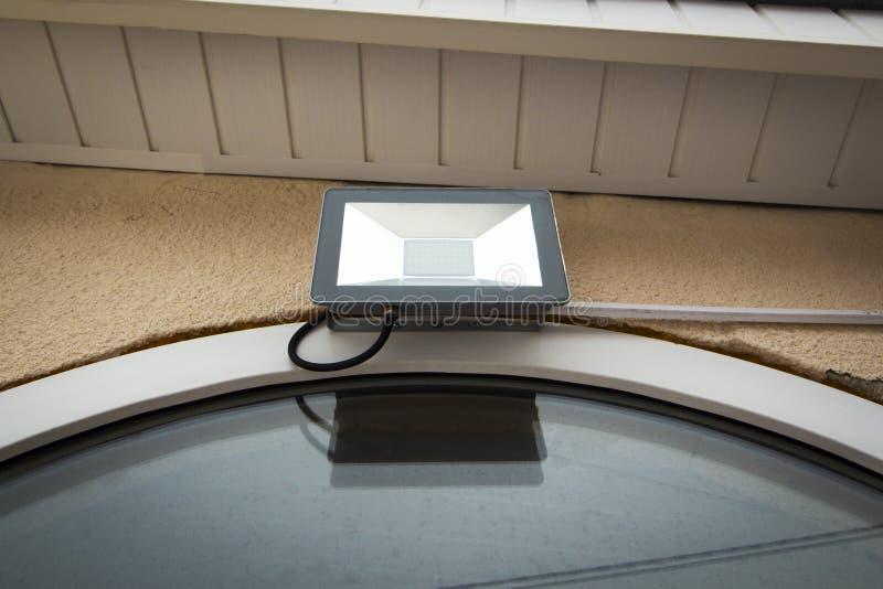 Projecteur de jardin de LED photos libres de droits