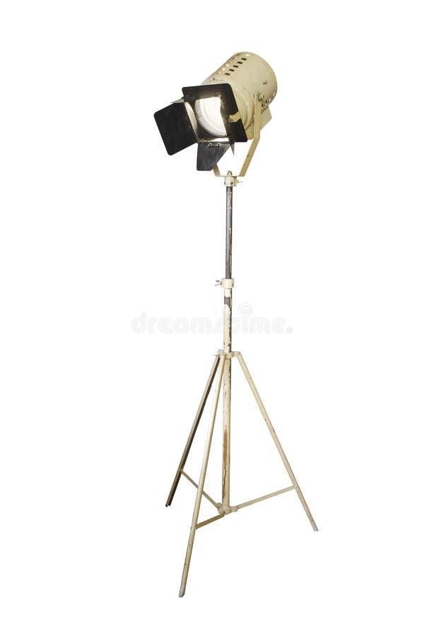 Projecteur de studio, photo stock
