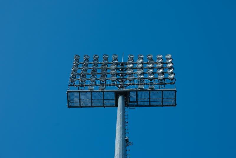 projecteur Lumières de stade Riflettore photo stock