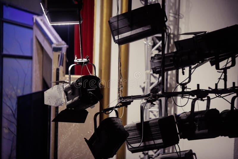 projecteurs photo libre de droits