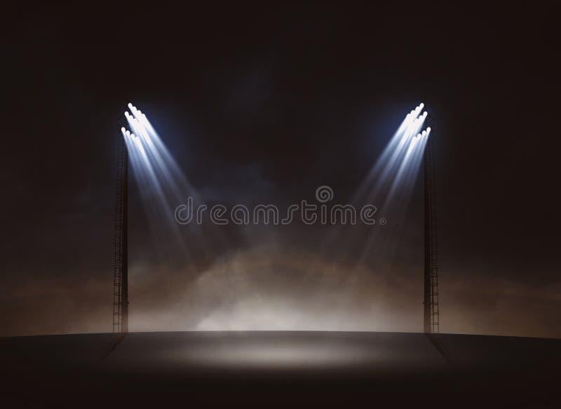 projecteurs photographie stock libre de droits