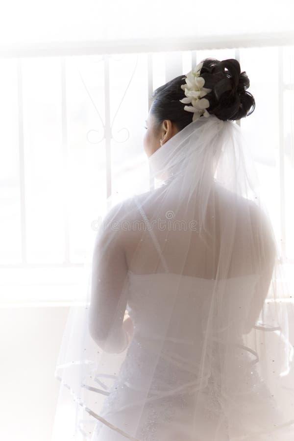 Projectile classique de mariée images stock