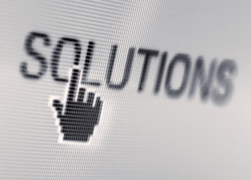 Projectile d'écran d'affaires images libres de droits