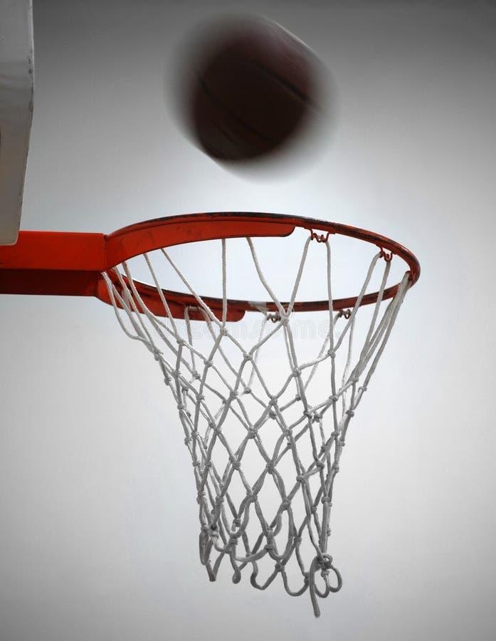Projectile de basket-ball photographie stock