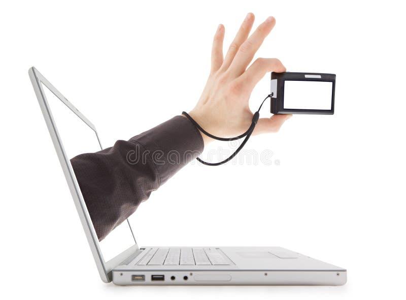 projectile de cyber images libres de droits