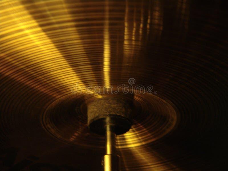 Projectile de cymbales photos libres de droits