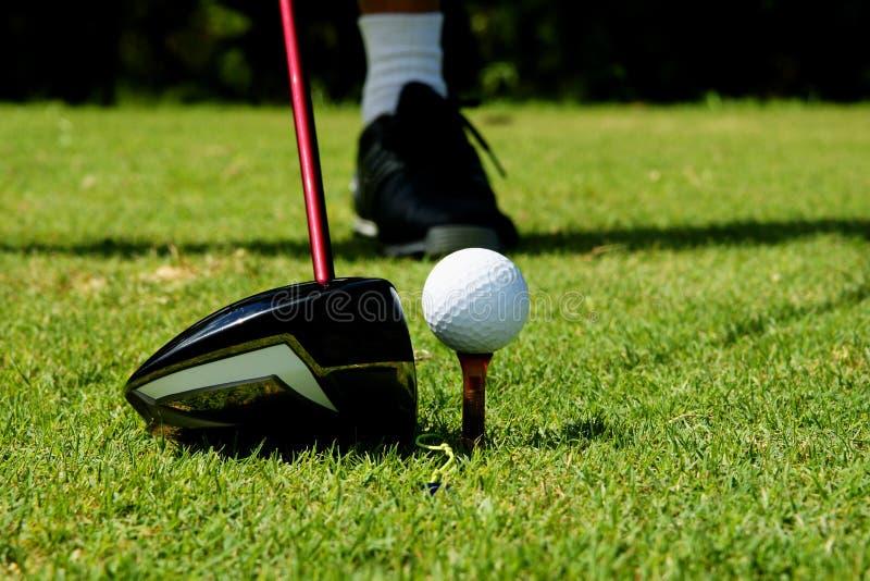Projectile de golf images libres de droits