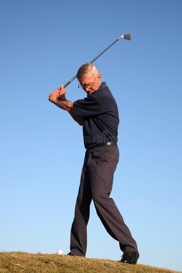 Projectile De Golf De Parcours Ouvert Images stock