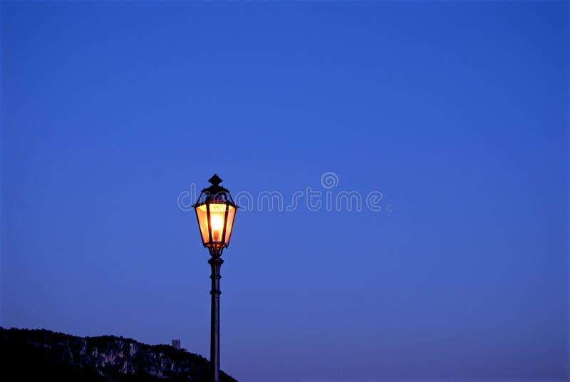 Projectile de nuit photo libre de droits