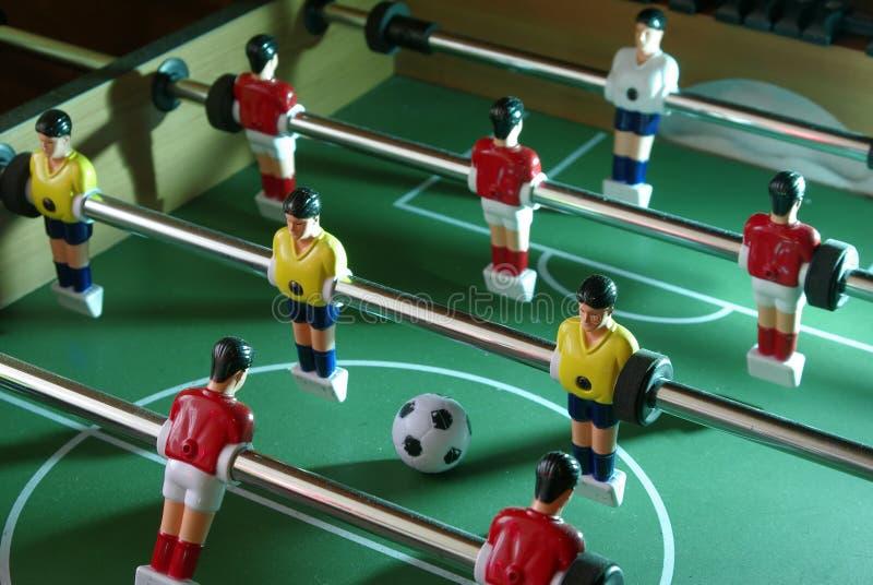 Projectile du football de Tableau images libres de droits