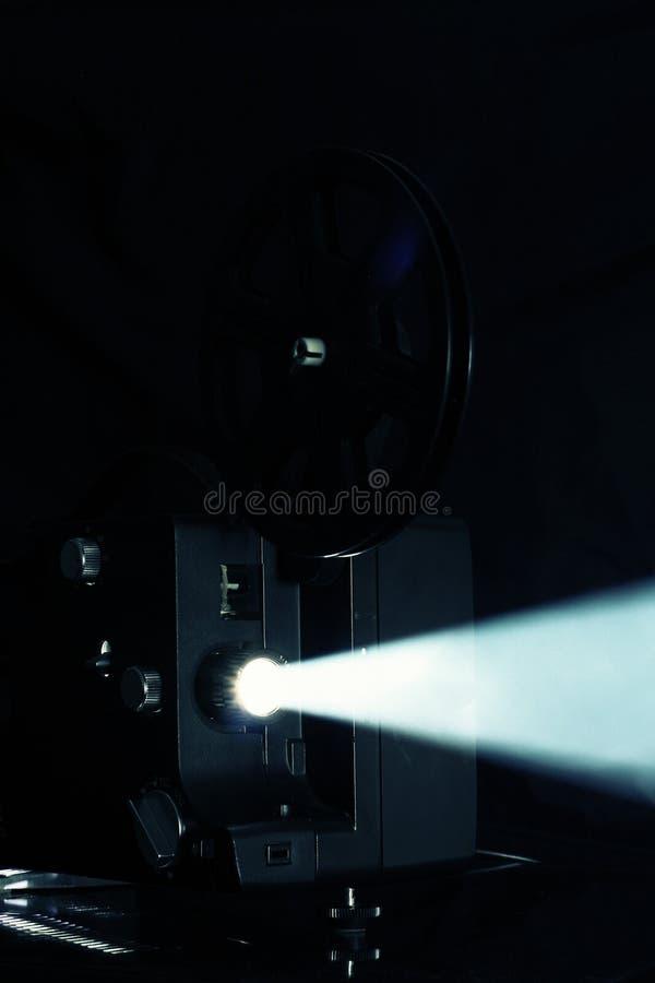 Projection de projecteur de film images stock