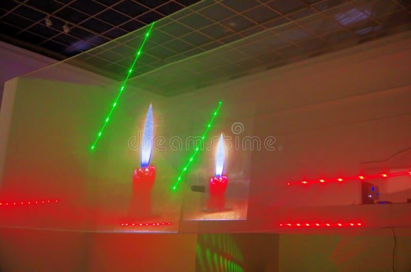 Projection olographe dans Kunsthalle Budapest photo libre de droits