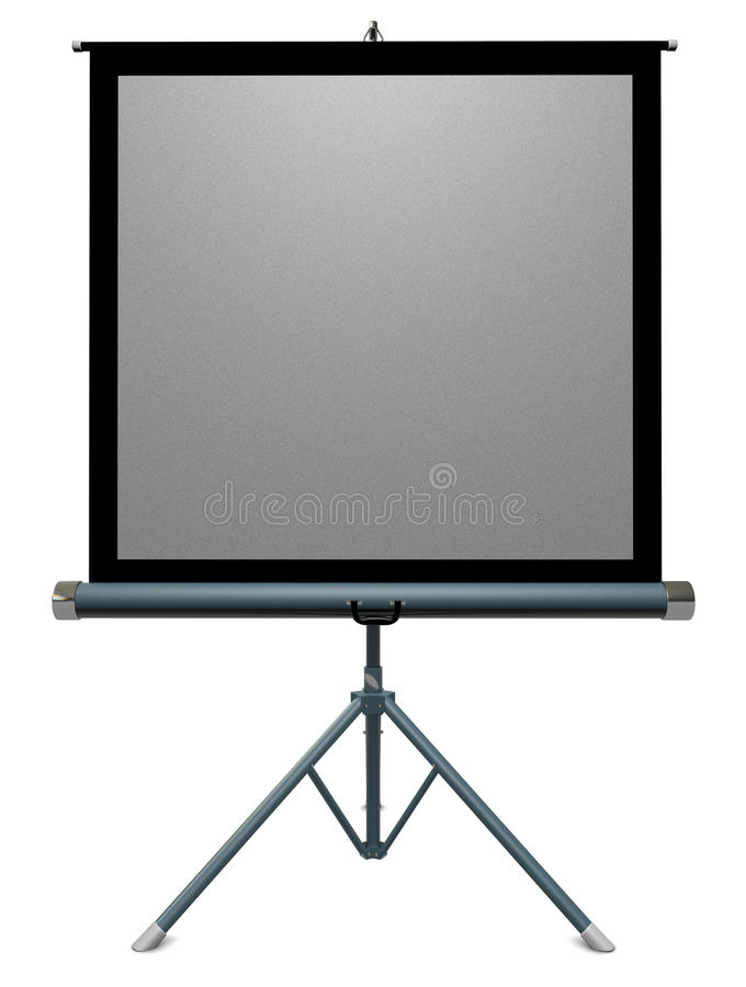 Projection Screen Royalty Free Stock Photos