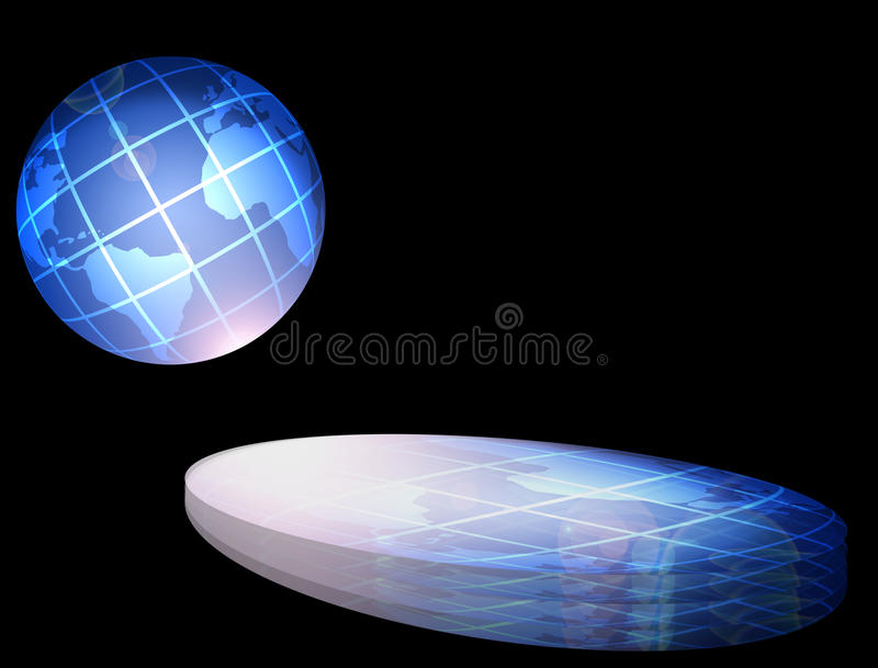 Download Projections stock illustration. Illustration of earth - 9393669