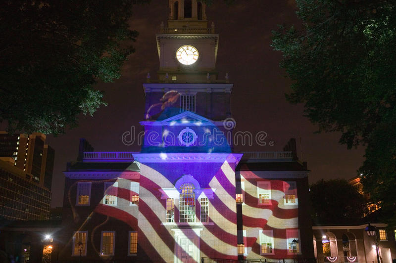 Projections of Betsy Ross Flag