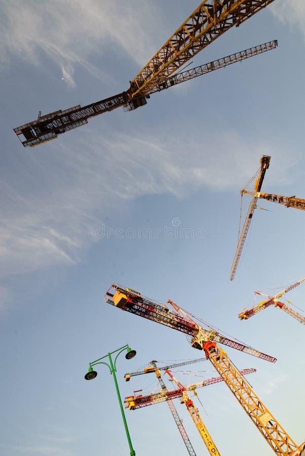 Projecto de construção foto de stock