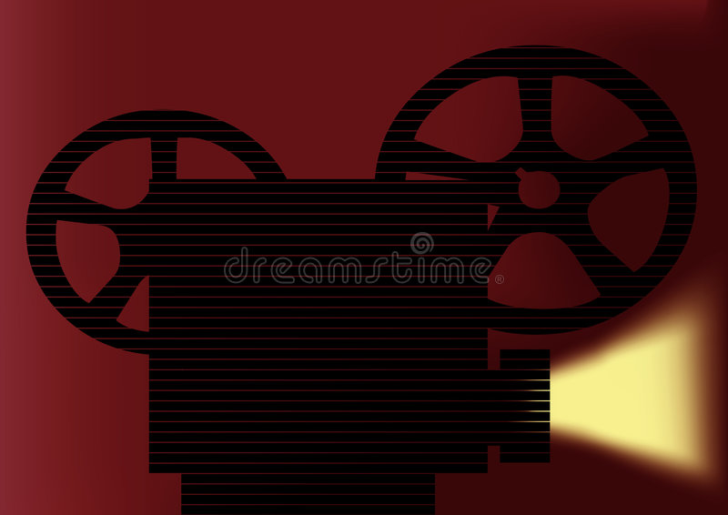 Download Projector stock vector. Illustration of editor, animated - 6012450