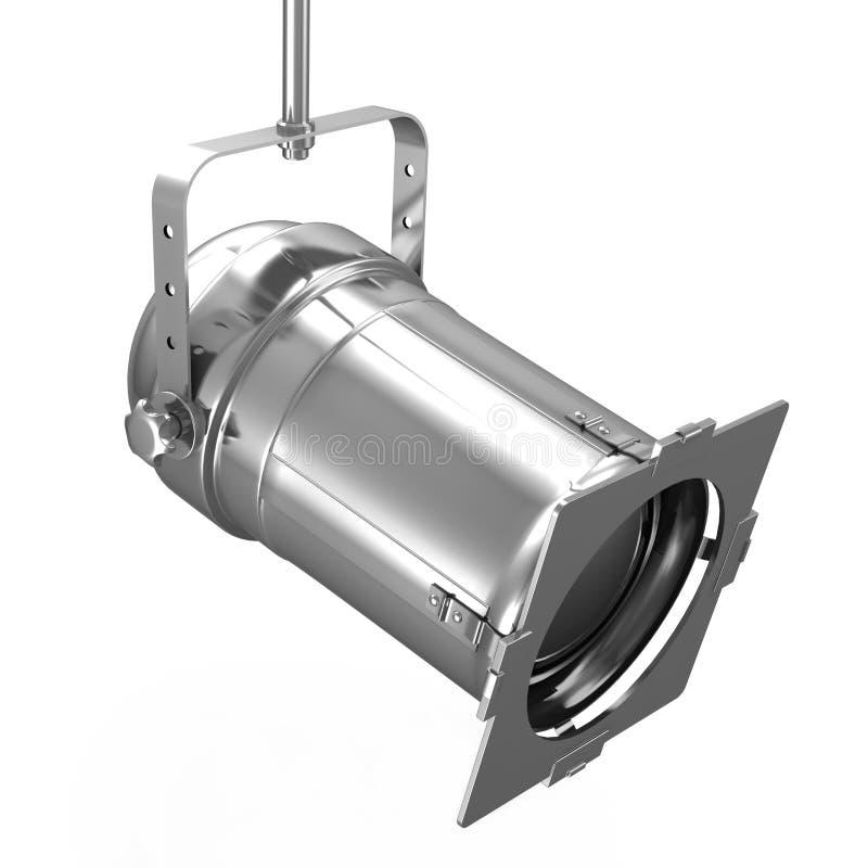 Projector do metal ilustração stock
