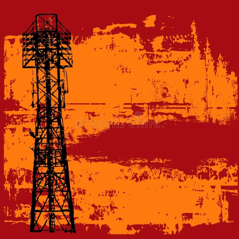 Download Projector Grunge ilustração do vetor. Ilustração de preto - 10058823