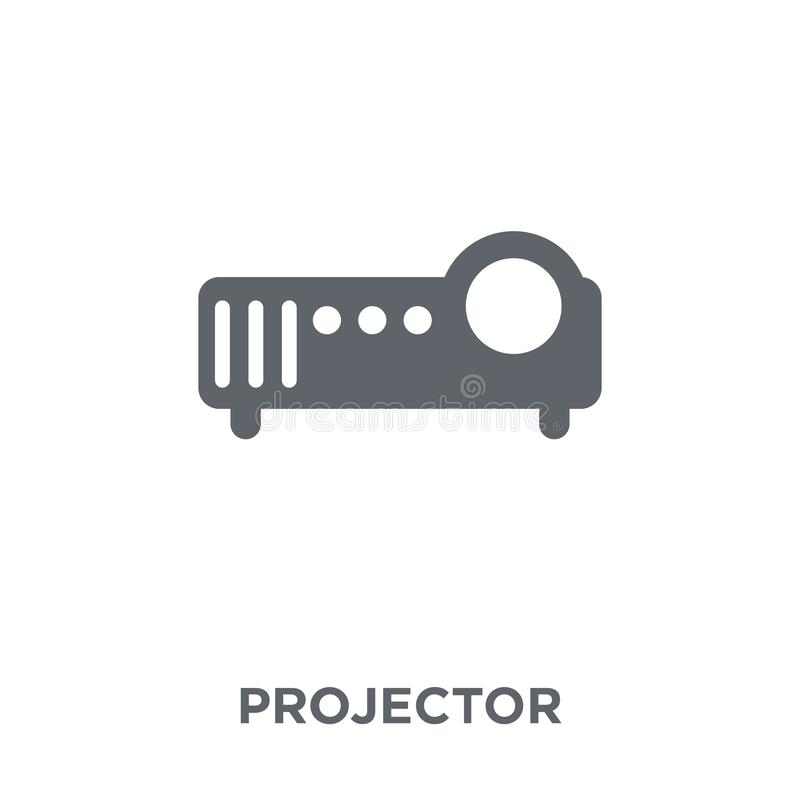 Projector icon from Electronic devices collection. stock illustration