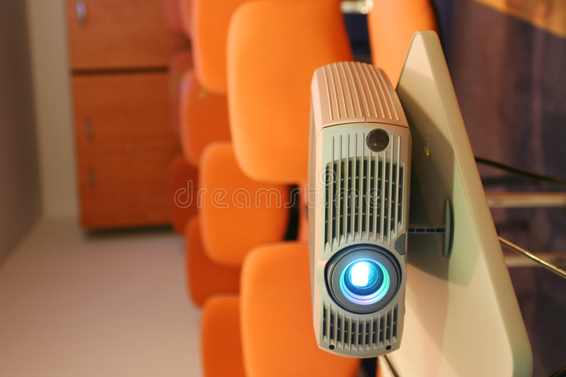 Free Projector Ready For Presentation Royalty Free Stock Images - 1290519
