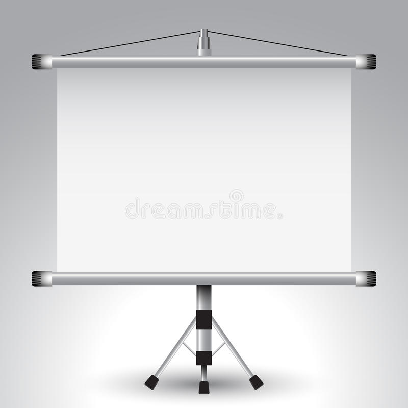 Download Projector roller screen stock vector. Illustration of information - 23112940