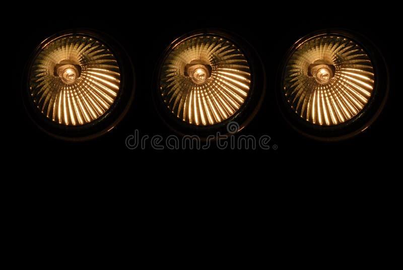 Projectores 2 do halogênio fotos de stock royalty free