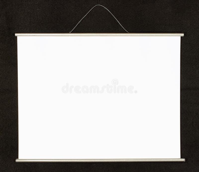 projekcyjny ekran zdjęcie stock