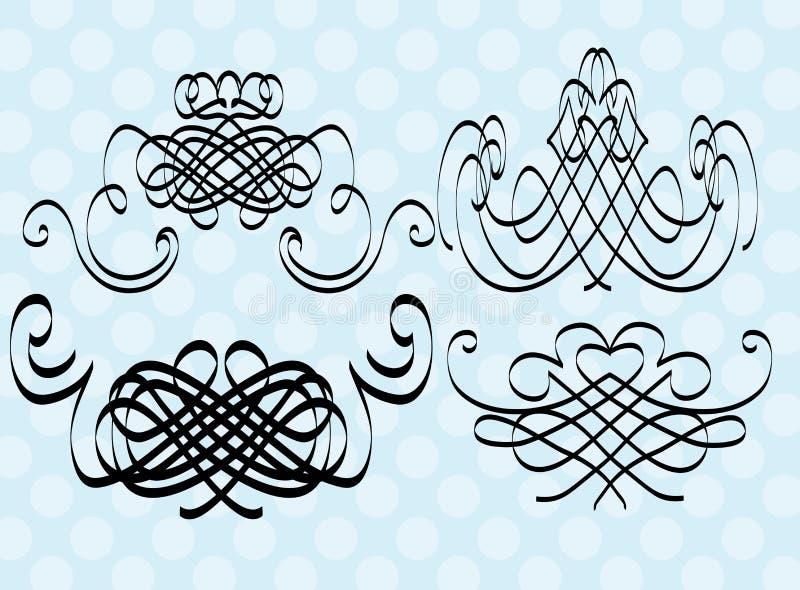 projektów elementy royalty ilustracja