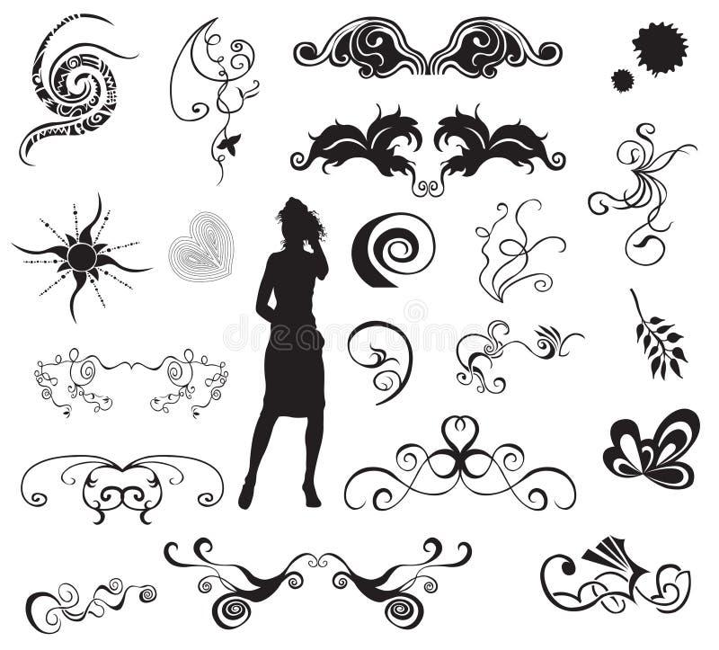 projektów elementy ilustracji