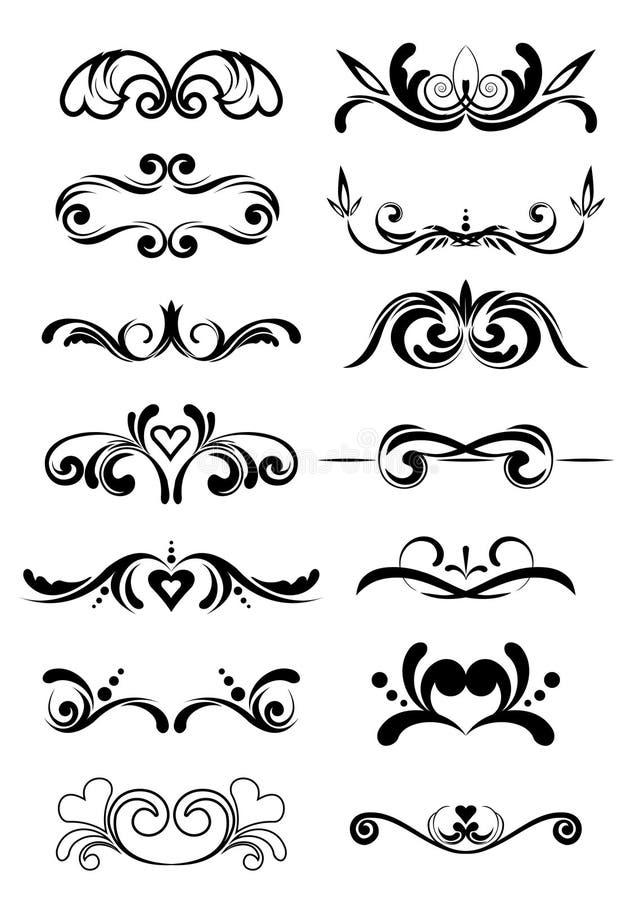 projektów elementy graficzni royalty ilustracja