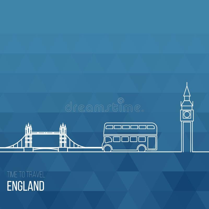 Download Projektów Pomysły Dla Anglia Lub Inspiracja Ilustracja Wektor - Ilustracja złożonej z sztandar, emblemat: 57655888