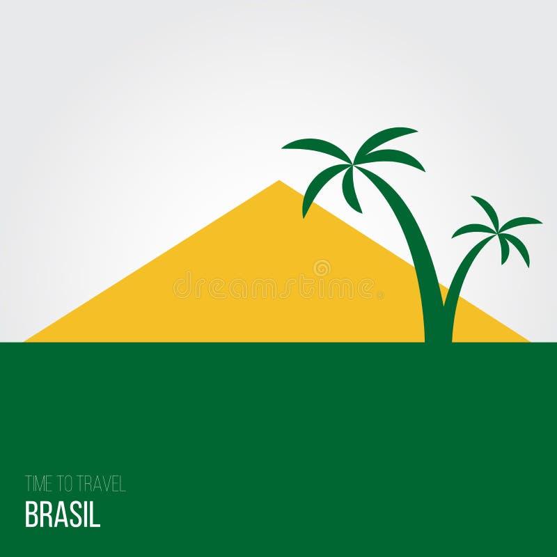 Download Projektów Pomysły Dla Brasil Lub Inspiracja Ilustracja Wektor - Ilustracja złożonej z pocztówka, przyciąganie: 57656473