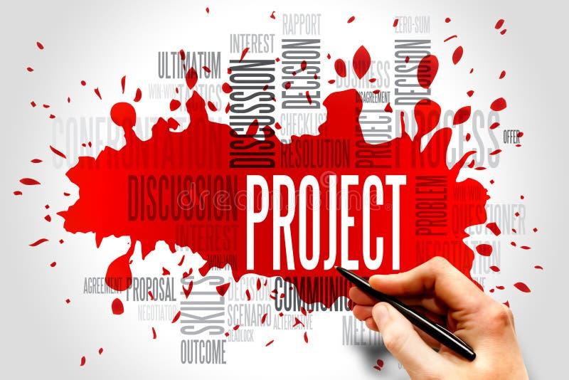projekt royaltyfri illustrationer