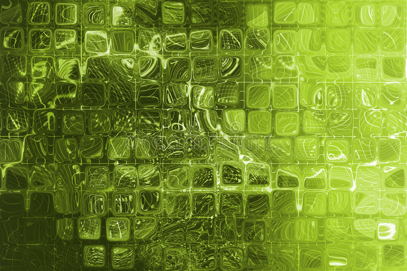 projekt abstrakcjonistyczna zieleń ilustracja wektor