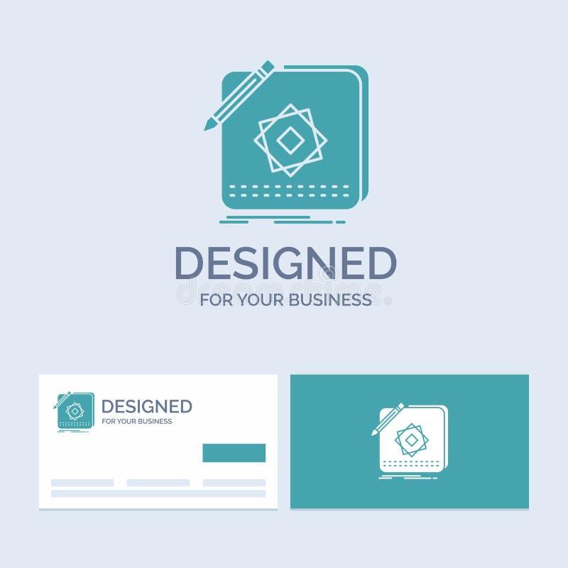 Projekt, App, logo, zastosowanie, projekta logo glifu ikony Biznesowy symbol dla twój biznesu Turkusowe wizyt?wki z gatunku logo ilustracji