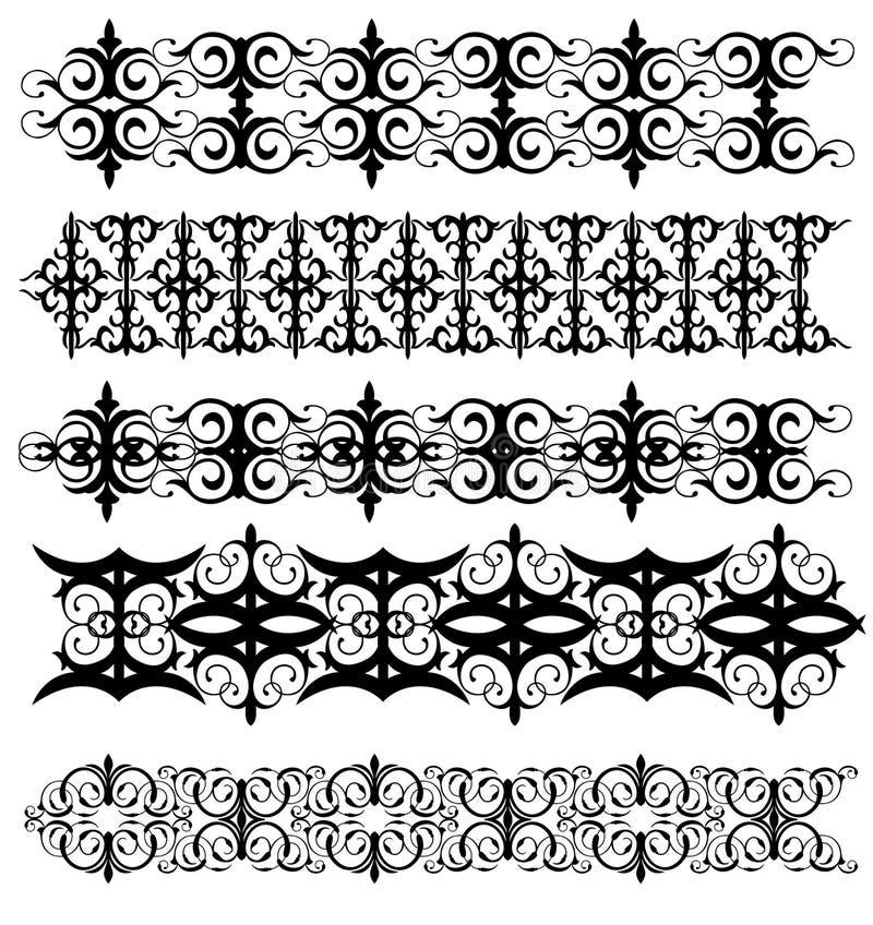 projekt dekoracyjny ilustracja wektor