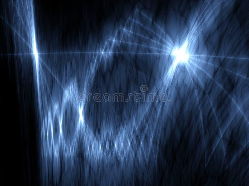 projekt hitech światła nowoczesnej przestrzeni ilustracja wektor