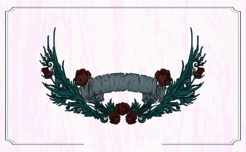 Projekt ilustracji wektorowej wektorowej tekstury z drewna wingowanego obrazy stock