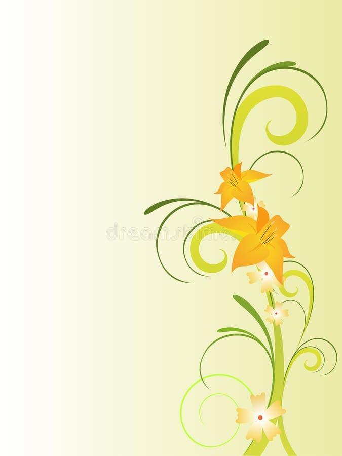 Download Projekt kwiecisty ilustracja wektor. Ilustracja złożonej z retro - 13326452