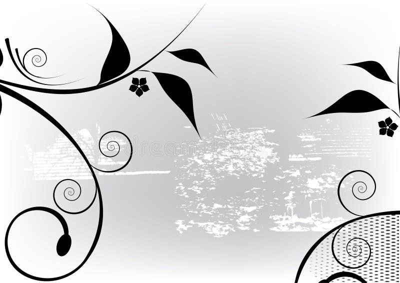 Download Projekt kwiecisty ilustracja wektor. Ilustracja złożonej z liść - 13326513
