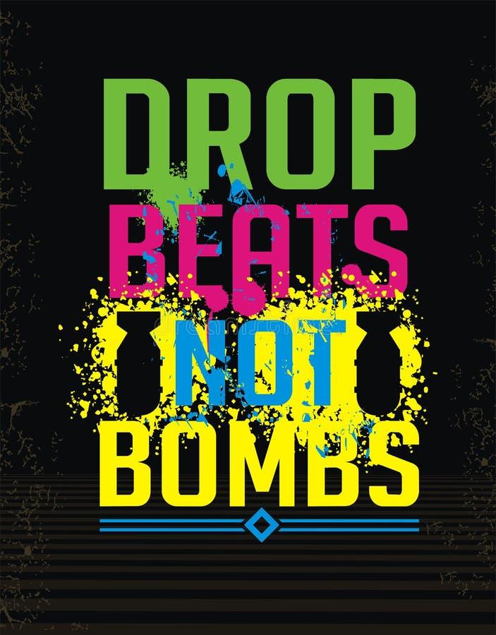 Projekt nie bomby royalty ilustracja