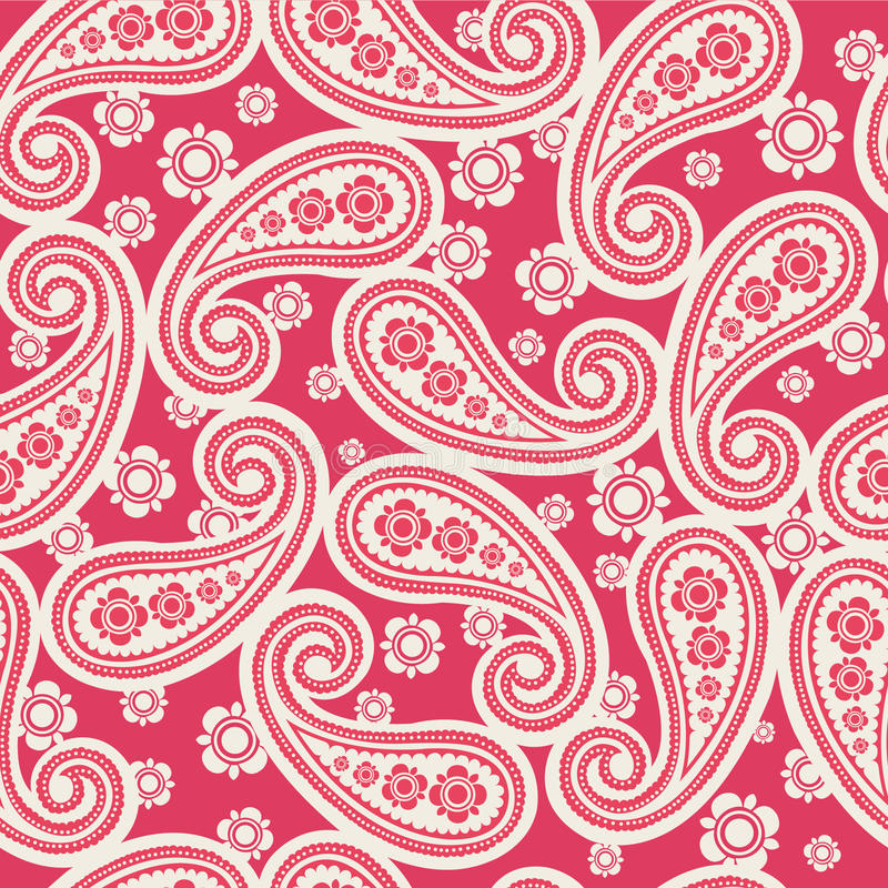 projekt Paisley ilustracja wektor