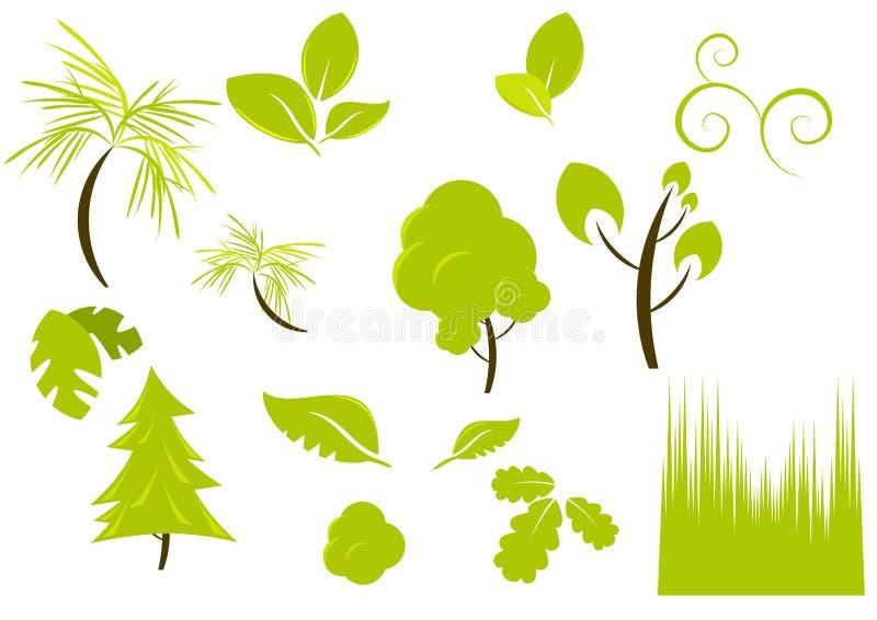 projekt roślinność roślin ilustracja wektor