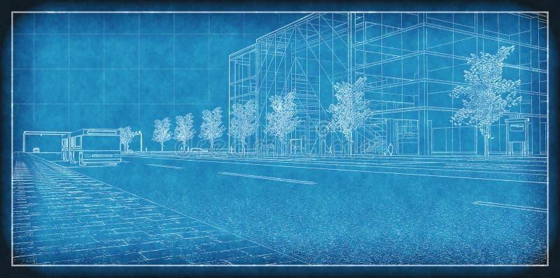 projekt techniczny ilustracji