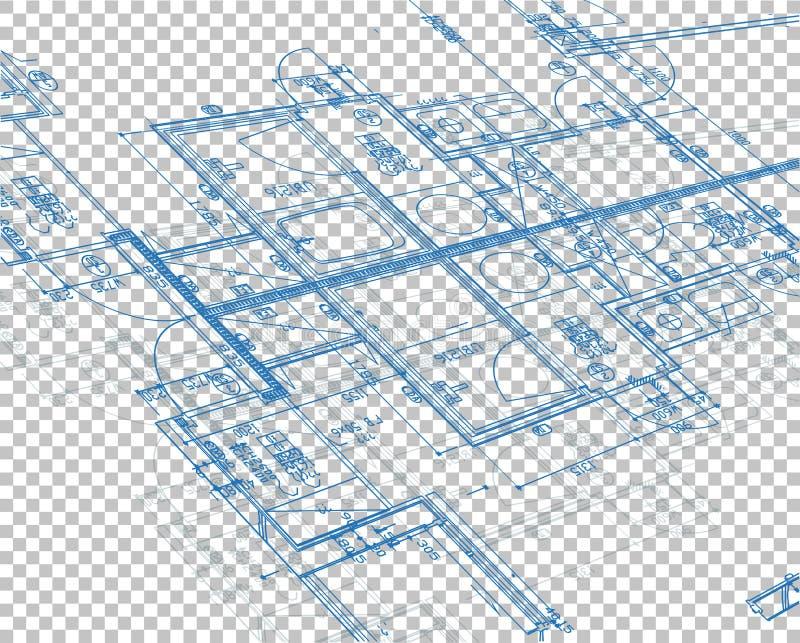 projekt warstwy pusty tło ilustracji