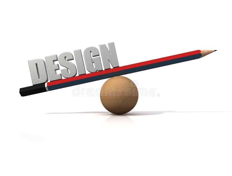 projekt white logo ilustracja wektor